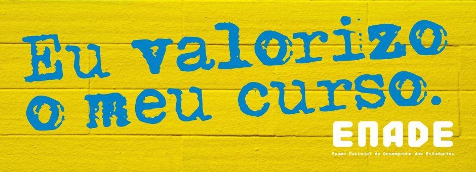 Banner Enade Valorizo