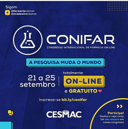 I- Congresso- On-Line- Internacional- de- Farmácia – CONIFAR- CESMAC (3)