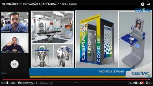Inovação Acadêmica continuou sendo reforçada em tarde de programação no Seminário do Cesmac
